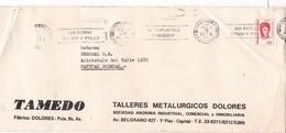 """""""UN NIÑO SANO Y FELIZ UNICEF""""  BANDELETA PARLANTE AÑO 1974 SOBRE COMERCIAL TAMEDO - BLEUP - Argentina"""