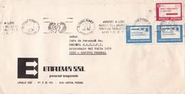 """""""DIA NACIONAL DE LA ARMADAM COMBATE DE MONTEVIDEO""""  BANDELETA PARLANTE AÑO 1974 SOBRE COMERCIAL CICLOPE - BLEUP - Argentina"""