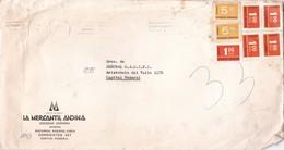"""""""BODAS DE PLATA DE LA TELEVISION ARGENTINA"""" BANDELETA PARLANTE AÑO 1976 SOBRE COMERCIAL LA MERCANTIL ANDINA - BLEUP - Argentina"""