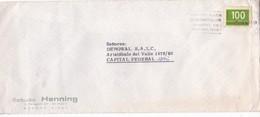"""BUENOS AIRES SEDE MUNDIAL 1978"" BANDELETA PARLANTE AÑO 1977 SOBRE COMERCIAL ESTUDIO HENNING - BLEUP - Argentina"