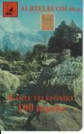 ALBANIA - Landscape, Albtelecom Telecard 100 Units, Tirage 90000, 05/99, Used - Albanië