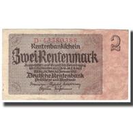 Billet, Allemagne, 2 Rentenmark, 1937, 1937-01-30, KM:174b, TB+ - [ 3] 1918-1933 : République De Weimar