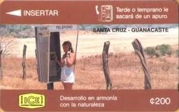 Costa Rica - CRI-G-3A, GPT, 3CORA, Santa Cruz, 200 ₡, 10,000ex, 1994, Unused, Mint - Costa Rica