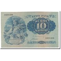 Billet, Estonia, 10 Krooni, 1928, KM:63a, TTB - Estonie