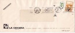 """""""SOS OPROVI ARGENTINA VILLAS INFANTILES"""" BANDELETA PARLANTE AÑO 1973 SOBRE COMERCIAL LA OXIGENA - BLEUP - Argentina"""