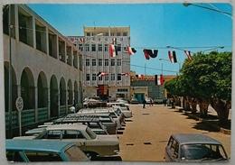 DERNA - Municipality Square - Libia - Libian Flags - Vg - Libia