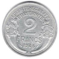 2 Francs Morlon 1945 B - France