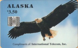 Alaska - USA-ASK-09, Alaskan Bald Eagle - Complimentary, Fauna, 3.50 $, 6,000ex, 3/94, Mint - Phonecards