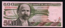 MEXICO 500 Pesos ( Madero ) 29/06/1979 Serie K JE060162 Pick-69 UNC - México