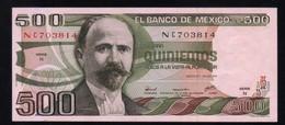 MEXICO 500 Pesos ( Madero ) 29/06/1979 Serie N NC703814 Pick-69 UNC - México