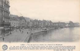 LIEGE - Vue Des Quais De La Goffe, De La Batte Et De Maestricht - Liège