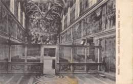 ROMA - Vaticano - Interno Della Cappella Sistina - Vatican