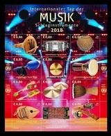 United Nations (Vienna) 2018 Mih. 1029/40 Musical Instruments MNH ** - Wien - Internationales Zentrum