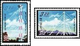 1961 80th Anni. Of Telecommunication Stamps Microwave Telecom - Other