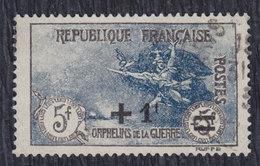 France 1922 War Orphans, Value 5 Fr + 1 Fr, Used (o) Michel 151 - Gebraucht