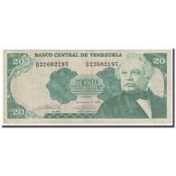 Billet, Venezuela, 20 Bolivares, 1989, 1989-09-07, KM:63b, TB - Venezuela