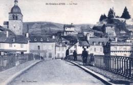 12 - Aveyron -  SAINT GENIEZ D OLT - Le Pont - Frankreich