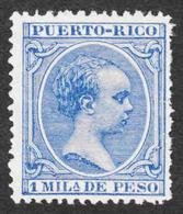 Puerto Rico - Scott #81 Unused - No Gum - Puerto Rico
