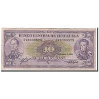 Billet, Venezuela, 10 Bolívares, 1988, 1988-11-03, KM:62, TB - Venezuela