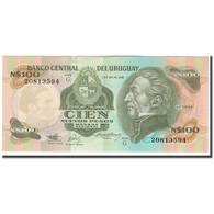 Billet, Uruguay, 100 Nuevos Pesos, KM:62a, SUP+ - Uruguay