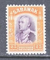 SARAWAK  126     *    No Wmk.   1934-41  Issue - Sarawak (...-1963)
