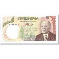 Billet, Tunisie, 5 Dinars, 1980, 1980-10-15, KM:75, SUP - Tunisie