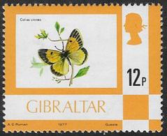 Gibraltar SG384 1977 Definitive 12p Unmounted Mint [39/31995/2D] - Gibraltar