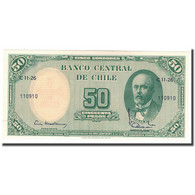 Billet, Chile, 5 Centesimos On 50 Pesos, KM:126b, NEUF - Chili