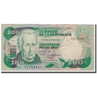 Billet, Colombie, 200 Pesos Oro, 1984, 1984-11-01, KM:429b, TB - Colombie
