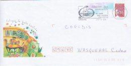 L4U214 GERS Secap Cologne  Bastide Du XIIIè 20 03 2004 / 1  Env.  Ent. - Marcophilie (Lettres)