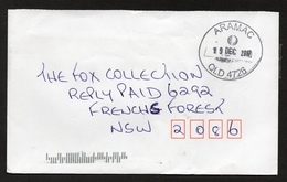 ARAMAC, QUEENSLAND 4726 Circular Postmark On Complete Cover Dated 19 DEC 2017 - Postmark Collection
