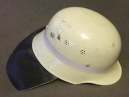 Casque De Pompier Allemand - Feuerwehrhelm - Fluorescent En Aluminium - Hoeden