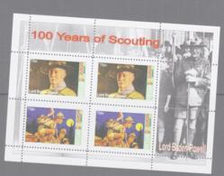 SCOUTS -  GREAT BRITAIN (LOCALS ) SHETLAND - 2007 - EUROPA/SCOUTS SHEETELT OF 4 MNH - Cartas