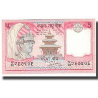 Billet, Népal, 5 Rupees, KM:30a, SUP - Indonésie