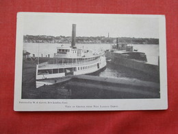 View Of Groton From New London Depot    Ref 3206 - Dampfer