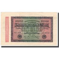 Billet, Allemagne, 20,000 Mark, 1923, 1923-02-20, KM:85a, TTB - 20000 Mark