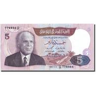 Billet, Tunisie, 5 Dinars, 1983, 1983-11-03, KM:79, SUP - Tunisie
