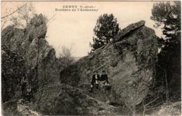 4SZ 837.  CERNY - ROCHERS DE L' ARDENNAY - Francia