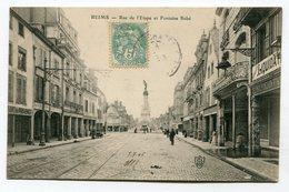 CPA 51 : REIMS   Rue De L'étape   A  VOIR   !!!! - Reims