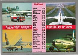 6-RHEIN-MAIN  AIRPORT-FRANKFURT AM MAIN - Aerodromi