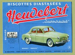 "RENAULT "" FREGATE ""  ( BUVARD : HEUDEBERT ) - Automobile"