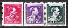 724N/P**  Leopold III Col Ouvert Surchargé -10% - FRASNES LEZ BUISSENAL - Série Complète - MNH** - LOOK!!!! - 1946 -10%