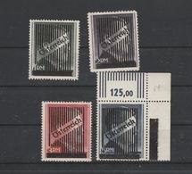 Va - Vd, Gitteraufdruck, Postfrisch,  5 RM Geprüft - 1945-.... 2ème République