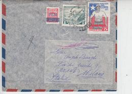 CILE  1973 - Yvert 320-381-390 - Lettera Per Italia - Cile