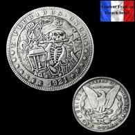 REPRODUCTION Hobo - Morgan Dollar 1921 ( A ) - Etats-Unis