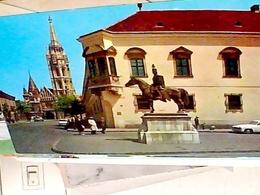 UNGHERIA Hungary BUDAPEST MATYAS CHURCH  HADIK ANDRAS  AUTO CAR    N1965 HB8421 - Ungheria
