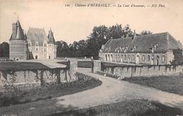 ¤¤   -   NEUVY   -   Chateau D' HERBAULT   -  La Cour D'honneur   -   ¤¤ - France