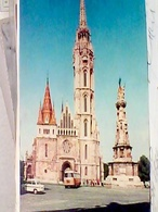 UNGHERIA Hungary BUDAPEST MATTHIAS CHURCH  AUTOBUS  AUTO CAR    VB1968 HB8423 - Ungheria