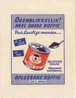 DE ZWARTE KAT  Oplosbare Koffie   19 X 15 Cm - Coffee & Tea