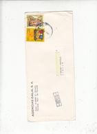 PANAMA  1986 - Yvert  1000-1031 - Natale  - Arte - Lettera Per Italia - Panama